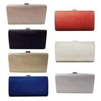 Solid Evening Handbag Stylish Bright Plaid Evening Party Clutch Bag Chain Bag