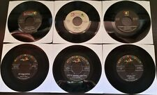 Lot of 6 ABC/Paramount Label Records 45RPM (Used)
