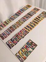 1991 Hasbro Gi Joe 79 Card Lot No Duplicates