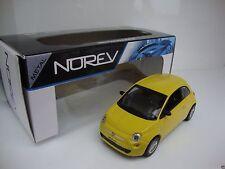 Norev Fiat 500 Amarelo 2012 Diecast Model Car Norev 1:43 Suberb detail