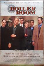 Boiler room movie poster print #2