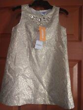 Gymboree girls holiday shine dress size 4 nwt