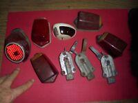feux Citroen 2cv cabochon Seima 413 Scintex Poignée Porte + Traction agr tpv 117
