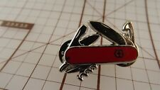 Swiss Army Knife Lapel / Hat Pin Brand New Enameled