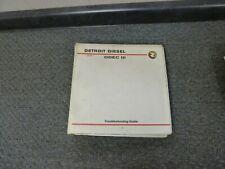 1992-1994 Detroit Diesel 149 Series Engine DDEC III Troubleshooting Manual 1993