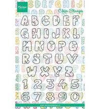 """Stempel - Clearstamp - """"Patchwork Alphabet"""" Marianne Design (CS0921)"""
