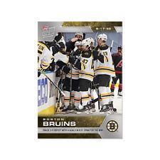 Boston Bruins SCP73 2020 NHL TOPPS NOW Hockey Sticker Print Run 171 Only