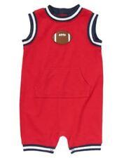 NWT Gymboree Very Junior Varsity Football Red Romper Sz: 12-18 m