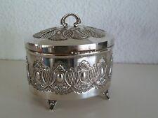Top Rarität : Hazorfim antike Sterling Silver 925 Keksdose