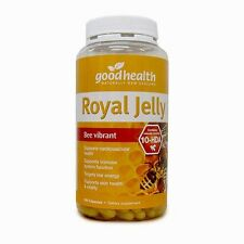Good Health New Zealand Royal Jelly 1000mg 365 Capsules