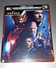 Iron Man 4k Ultra HD + Blu-Ray + Digtal -Steelbook Best Buy