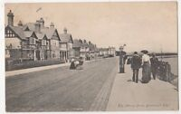 Dovercourt Bay, The Marine Drive 1905 Essex Postcard, B680