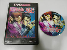 KENSHIN EL GUERRERO SAMURAI LA PELICULA DVD + EXTRAS MANGA SELECTA VISION