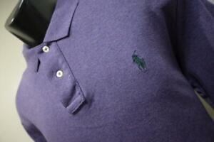 Polo Ralph Lauren Golf Polo Classic Fit Long Sleeve Purple Shirt Mens Size Large