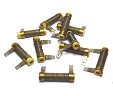 10x vintage filo-resistenza 190 Ohm, 3w, unmagnetisch, per tubi AMPLIFICATORE