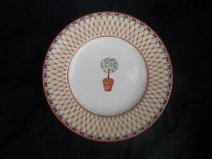 Tesco LEMON TREE Dessert Plate.Diameter 8¼ inches.