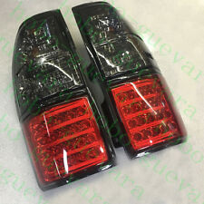 2pcs For Toyota Prado LC90 2700 3400 1998-2002 Black LH&RH Rear LED Tail Lamps