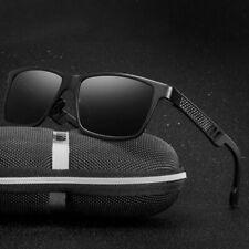 Herren Polarisiert Sonnenbrille Fahren Brillen Herr UV400 Pilotenbrille Schwarz