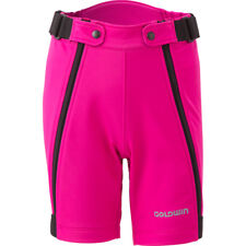 Goldwin Juniors Extreme Alpine Race Soft Shell Half Pants Ski Shorts - Pink L