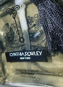 CYNTHIA ROWLEY Magnolia Blossom Liquid Hand Soap [14.5 FL.OZ. Glass Dispenser]