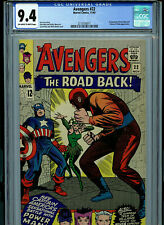 Avengers #22 CGC 9.4 NM Marvel Comics 1965 Kirby Heck Lee Amricons B13