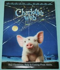 CHARLOTTE'S WEB PRESS KIT 2006 CD-ROM 32 PHOTO IMAGES INFORMATION HANDBOOK