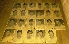 RARE (23) 1955 NY YANKEES TEAM PICTURE PACK 8X10 PHOTOS