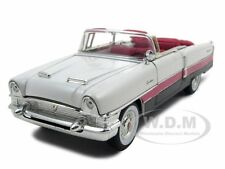 1955 PACKARD CARIBBEAN PINK 1/32 DIECAST MODEL BY SIGNATURE MODELS 32346