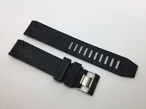 20MM BLACK RUBBER BAND STRAP BRACELET FOR 41MM OMEGA SEAMASTER PLANET OCEAN