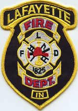 LAFAYETTE INDIANA IN FIRE PATCH