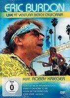 DVD - Eric Burdon - Live At Ventura Beach California - Feat. Robby Krieger