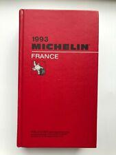 Guide Michelin France 1993