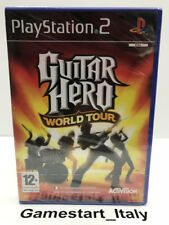 GUITAR HERO WORLD TOUR - PS2 - NUOVO SIGILLATO NEW SEALED PAL VERSION