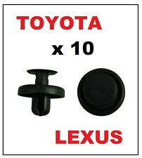 10 x PUSH RIVET for TOYOTA / LEXUS - Bumper Wheel Arch Lining Trim Clips