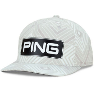 New Ping Limited Edition Tour Verde White Adjustable Snapback Hat