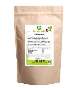 1 Bio Macadamia Ganz Nuts Natural Core Unsalted