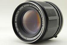 EXC+++ Minolta AUTO TELE ROKKOR-QE 100mm F3.5 MD mount Lens from JAPAN #541