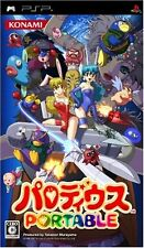 Used PSP Parodius Portable Japan Import