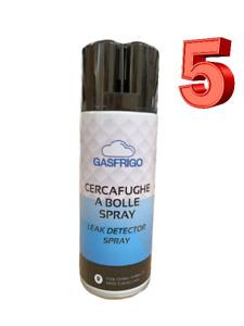 5 Spray Lecksucher Sucht Gelenke Gas Kältemittel Methan Leckanzeigegerät 400 ML