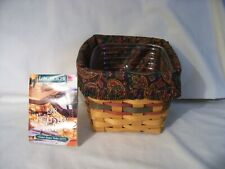 Longaberger 1998 Father's Day Finder's Keepers Basket Combo