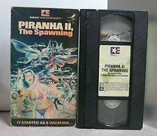Piranha 2: The Spawning VHS 1982 TRICIA O'NEIL *TESTED* FAST SHIPPER