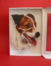 Jack Russell Terrier Dog Wooden Wall Clock Pet Gift Working Dog Gift Xmas NEW