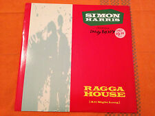 "SIMON HARRIS feat Daddy Freddy - RAGGA HOUSE (All Night Long) '91 UK 12"" NMINT"