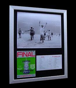 WBA+WEST BROM+ALBION 1968 FA CUP FINAL LTD TOP QUALITY FRAMED+FAST GLOBAL SHIP