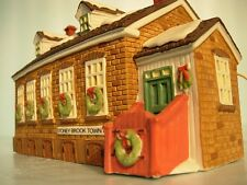 """Dept 56 """"Stoney Brook Town Hall"""" New England Series Retired #5644-8"""