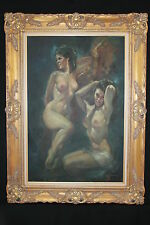 ORIGINAL LEO JANSEN OIL PAINTING