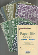 CARDSTOCK PAPER ADVENTURES PAPER MIX 4.5x6.5 150 SHEET COLLECTION - 75 DESIGNS
