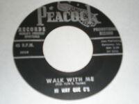 Hi Way Que C's 45 Walk With Me PROMO PEACOCK