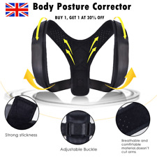 Body Posture Corrector Brace Bad Back Women Men Lumbar Shoulder Support Belt