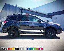 Sticker Decal Vinyl Side Stripe Body Kit for Subaru Forester Windshield Mirror